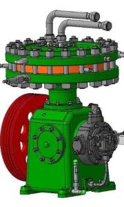 Газовый мембранный компрессор