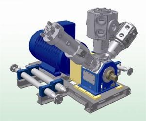 метановый компрессор 1