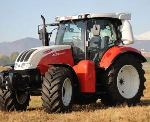 Трактор на метане